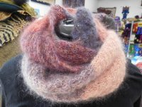 Star Stitch Gradient Cowl