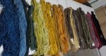 natural dye yarns
